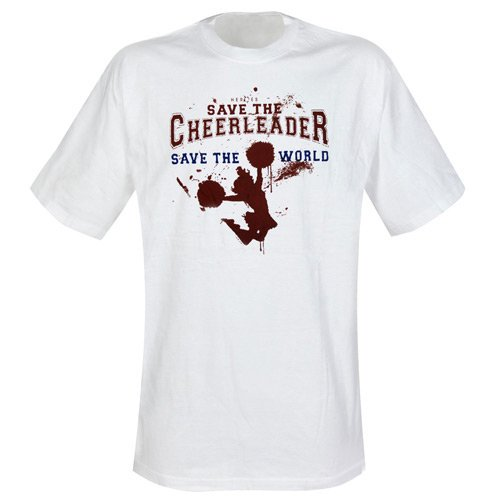 Heroes - T-Shirt Save Cheerleader (in XL)