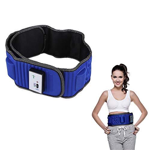 Cintura addominale, forma del corpo, rimozione elettrica, cintura massaggiatore a vibrazione 5 motori, riduzione del grasso bruciato, perdita del peso del grasso.