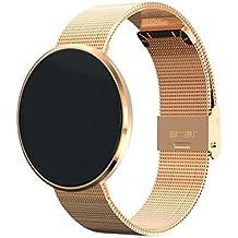 Bluetooth pulsera inteligente CF006 banda presión arterial monitor de frecuencia cardíaca fitness pulsera podómetro Smartband para teléfono Android , A