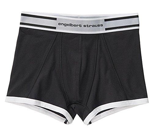 Engelbert Strauss Boxer Shorts, Stretch 2er Pack, Grße:4, Farbe:schwarz+zement
