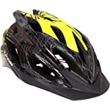 #5: Probike HL2950 Cycling Helmet -Black and Yellow (Size-M)