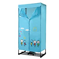 Household Silent Small Heater Dryer - Portable Electric Dry Hanger -900W-10kg Load-bearing