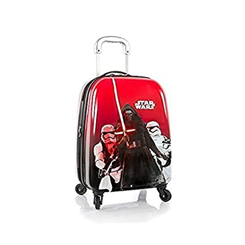 Heys Star Wars Tween Brand New Gorgeous Designed Exclusive Red Expandable Spinner Hard Side Luggage Case 20 Inch