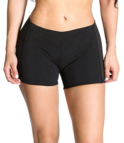 DODOING Damen Butt Lifter Shapewear Unterwäsche Panties Enhancer Boyshorts Taille Erweiterer Hose (Sexy Panty Boyshort)