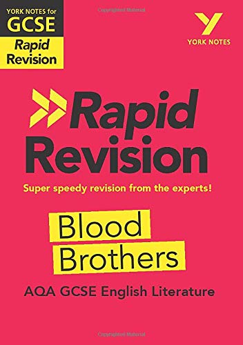 York Notes for AQA GCSE (9-1) Rapid Revision: Blood Brothers