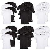 Kappa T-Shirts Ziatec Edition, 2 oder 4 Stück, Rundhalsausschnitt, V-Ausschnitt, Größe:XL, Farbe:4 x Rundhals Weiß