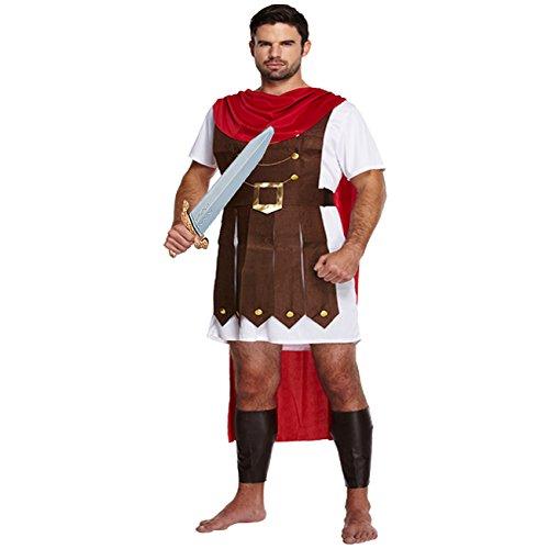 Kostüm Römischer Feldherr + Schwert Legionär Römer (Gürtel Römisches Schwert)