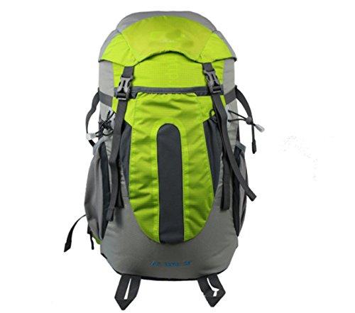 Outdoor-Klettern Reise Multifunktions - Rucksack,Blue Green