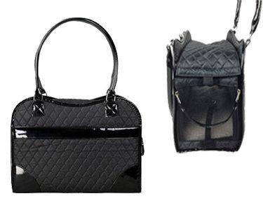 Exquisite' Handbag Fashion Pet Carrier, One Size, Black 1