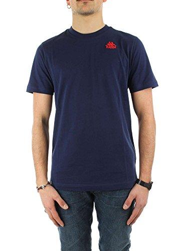 Kappa Herren T-Shirt Blau