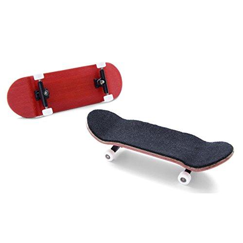 PhoneNatic Finger-Skateboard Bauset in rot (Design 5)
