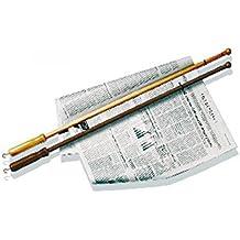 Tellier 48287-19 Bastone Giornale Legno Scuro, Cm 75
