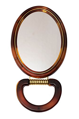 OM1 OVAL MIRROR BROWN
