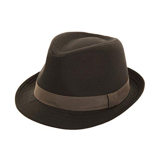 dannii-matthews-herren-fedora-trilby-gr-large-schwarz-black-grey