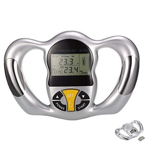 HYCy Fett-Monitor, digitaler Handheld-Body-Mass-Index-BMI-Tester Gewichtsverlust-Rechner-Analysator-Controller Health Diet Tracking Tool -