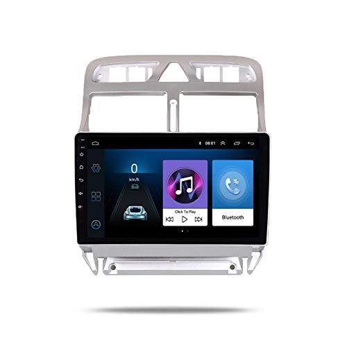 2 Din Android 8.1 Auto DVD Multimedia-Player Geeignet für Peugeot 307 307CC 307SW 2004-2013 Autoradio GPS-Navigation WiFi Bluetooth-Player-G-ZS-307_Vier Kern