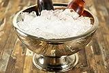 Buddy´s Bar - Champagnerkühler, hochwertiger Sektkühler aus Edelstahl, hochglanzpoliert und doppelwandig, extra robust mit 10,5 L Fassungsvermögen, spülmaschinengeeignet - 2