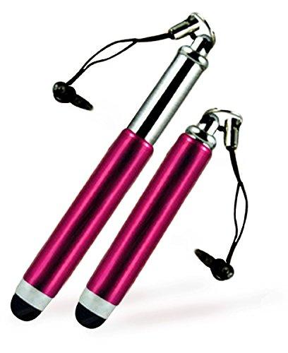 C63®-HTC Desire 626Mini ausziehbarer kapazitiver Stylus Touch Pen-Hot Pink (Einzigartige Htc Desire Telefon Fall)