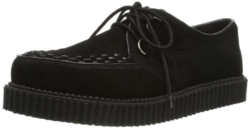Demonia CREEPER-602S EU-CREEPER-602S/B - Zapatos para hombre, color negro, talla 42