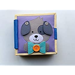 Cubs and Calves Snuggle Puppy - A fine Motor Quiet Book