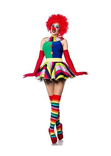 Clown Girl Komplettset von Mask Paradise S