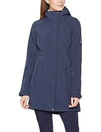 Damen Softshell-Mantel   Kurz-Mantel von Fifty Five - Roslyn - wasserfest, winddicht, atmungsaktiv mit FIVE-TEX Membrane für Outdoor-Bekleidung