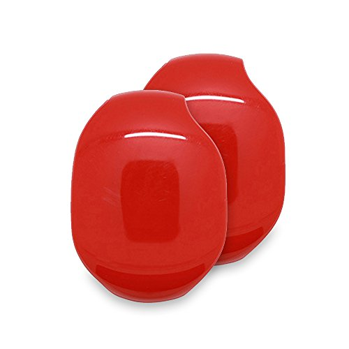 2Storage der in-Ear Headset Smart Aufbewahrungsbox/Kopfhörer Kabel Lagerung Organizer/in-Ear Halter Fall/Kopfhörer Winder Wrap/Draht Keeper von Kayley. rot