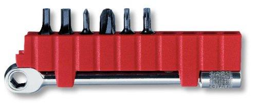 Victorinox Ratsche-Schlüssel Bithalter + 6 Bits 3.0306 (Standard-schlüssel-halter)
