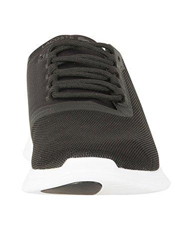 Lacoste Homme Baskets LT Fit 118 4 SPM, Noir Noir