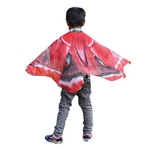 VRTUR Weihnachten Schmetterling Damen Flügel Schal Schals Poncho Kostüm Zubehörteil Party ()