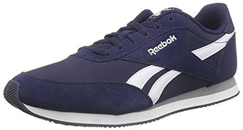 Reebok Herren Royal Classic Jogger 2 Sneakers, Blau (Collegiate Navy/White/Baseball Grey), 42.5 EU