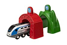 Ravensburger Italy- Smart Tech Locomotiva Intelligente con Tunnel, 33834