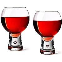 Durobor alternato confezione di 2calici da vino rosso, short Stem