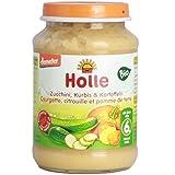Holle - Courgette et citrouille avec pomme de terre