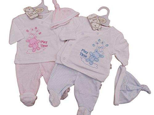 bnwt-ropa-de-bebe-para-bebe-talla-bebes-prematuros-reborn-nino-o-nina-3-piezas-teddy-rosa-rosa-talla