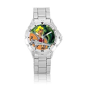 (m257) Motu Mattel musclor cadran rotatif poignet montre