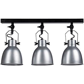 relaxdays suspension kaji 3 ampoules abat jour d coratif luminaire hauteur r glable lampe de. Black Bedroom Furniture Sets. Home Design Ideas