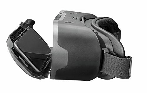 Trust Exos 3D-Virtual Reality-Brille (geeignet für Smartphone bis zu 6 Zoll)