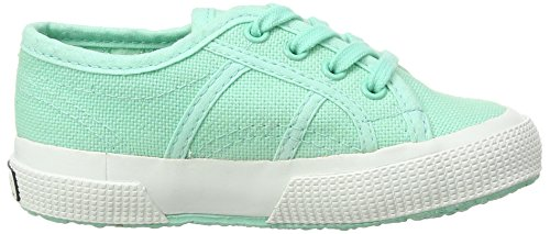 Superga 2750 Bebj Baby Classic, Low-Top Sneaker Unisex - bambino Verde (Grün (pastel Green))