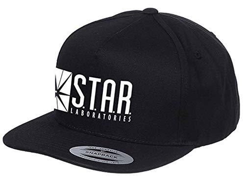 The Flash Baseball Cap Star Labs Logo Nue offiziell Schwarz ()