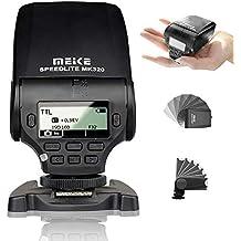 SHOOT Meike MK-320S TTL Pantalla LCD Speedlite para Sony A7 A7R A7S A7 II A77 II A6000 NEX-6 A58 A99 RX1 RX1R RX10 RX100 II RX100 III