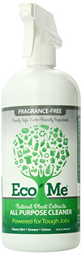 Eco-Me All Purpose Cleaner with Natural Plant Extracts, Fragrance-Free, 32 Ounce