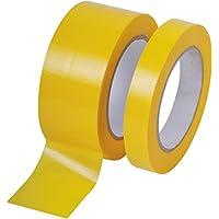 Profi PVC Putzband 33m gerillt 30mm gelb Bautenschutzband Schutzband Klebeband