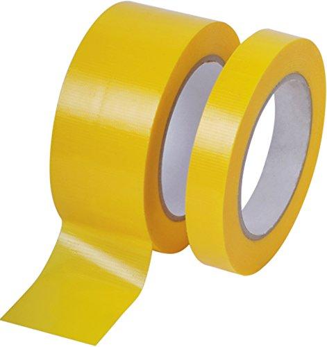 5 Rollen Profi PVC Putzband 33m glatt 30mm gelb Bautenschutzband Schutzband Klebeband