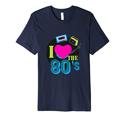 I Love The 80s Eighties T-Shirt | Kostüm, Kleidung