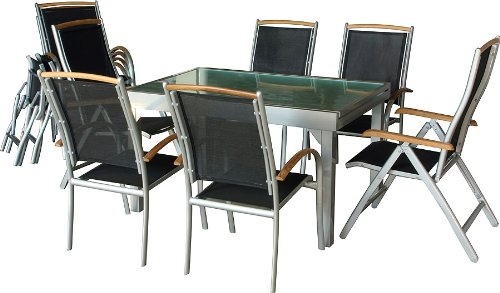 Diplomat Gartentisch ausziehbar - 5