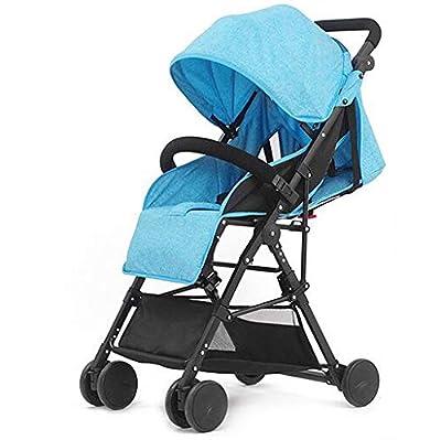 HAO XIAN SHENG El Cochecito de bebé Gemelo Nuevo Puede Sentarse reclinado Desmontable El Cochecito de bebé Gemelo Puede Entrar en el Elevador Choque Viaje portátil Conveniente,C
