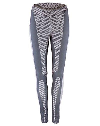 Pantalon Sport Femme Imprimés Leggings pour Yoga Fitness Comme Image