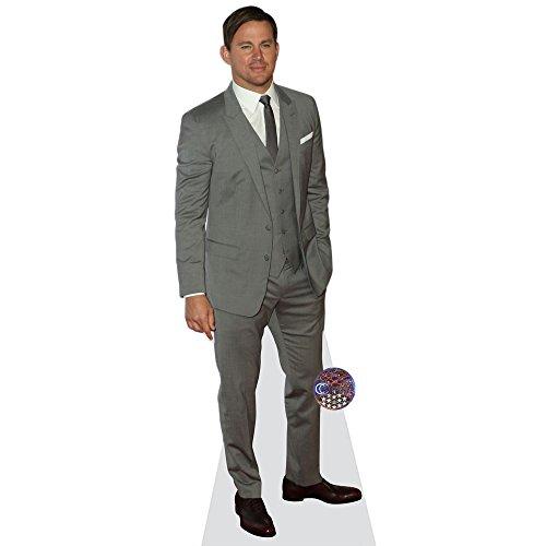 Celebrity Cutouts Channing Tatum (Grey Suit) Pappaufsteller Mini