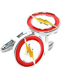 Flash inspirada Iluminación - el superhéroe Flash gemelos - Accesorios para Hombres camiseta